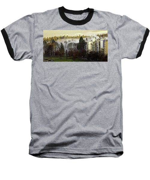 English Bay Fog Baseball T-Shirt