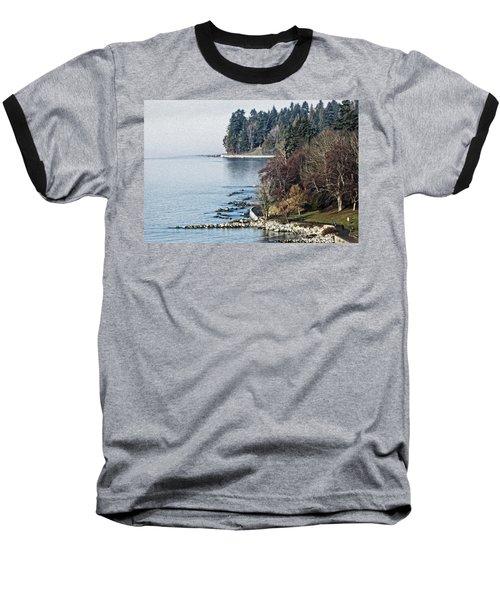 English Bay Shore Baseball T-Shirt