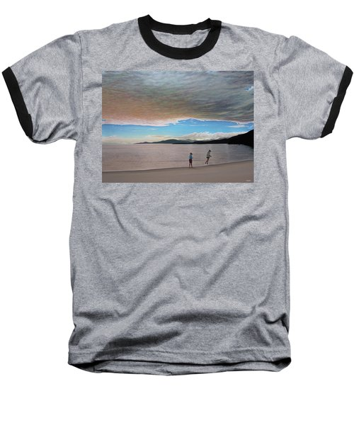 English Bay Vancouver Baseball T-Shirt by Kenneth M  Kirsch