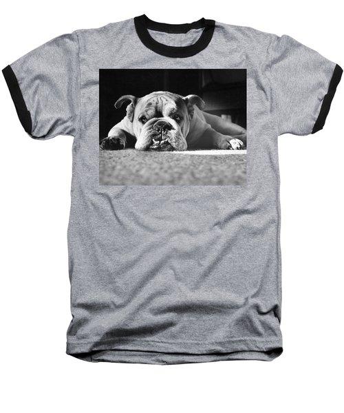 English Bulldog Baseball T-Shirt