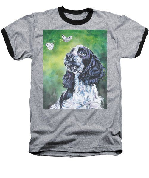 English Cocker Spaniel  Baseball T-Shirt