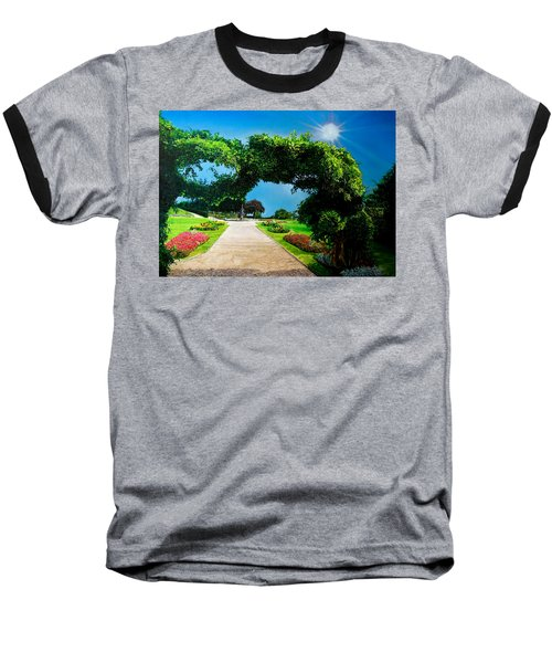 English Garden Baseball T-Shirt