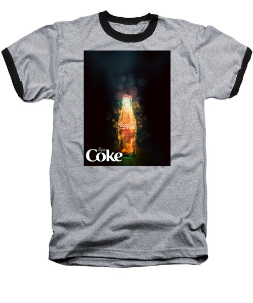 Enjoy Coca-cola With Bubbles Baseball T-Shirt