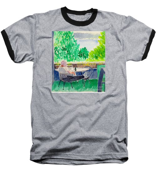 Enjoying The View-detail Baseball T-Shirt