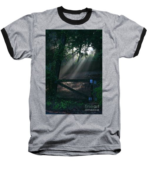 Enlighten Baseball T-Shirt by Lori Mellen-Pagliaro