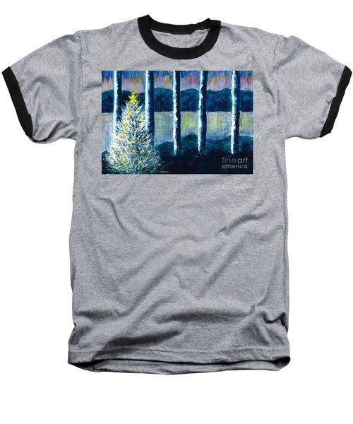 Enlightened Forest  Baseball T-Shirt