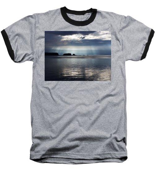 Enlightened Baseball T-Shirt by Karen Horn