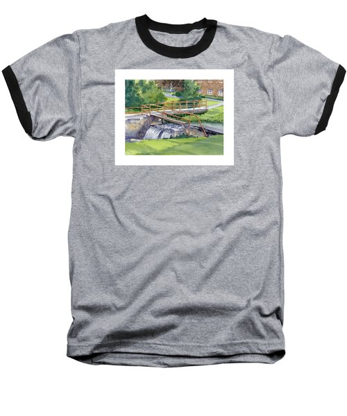 Ensign - Bickford Waterfall Baseball T-Shirt