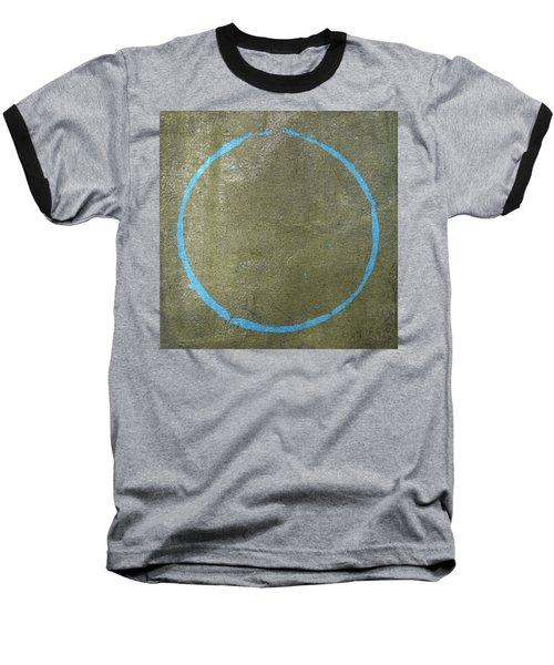 Baseball T-Shirt featuring the digital art Enso 2017-15 by Julie Niemela