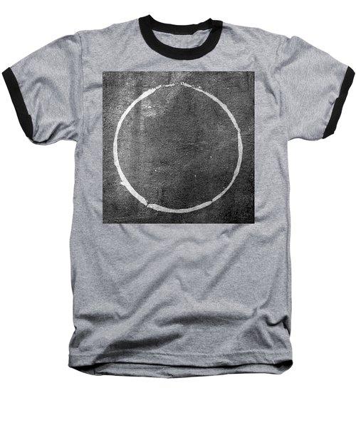 Baseball T-Shirt featuring the digital art Enso 2017-22 by Julie Niemela