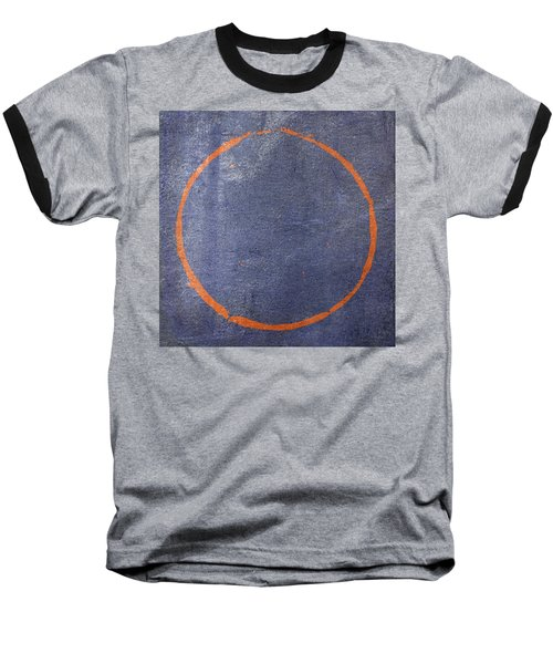 Baseball T-Shirt featuring the digital art Enso 2017-25 by Julie Niemela