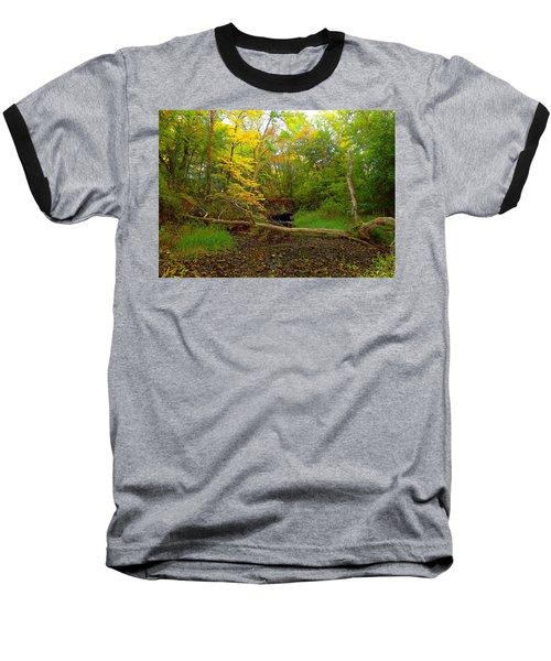 Enter Autumn Baseball T-Shirt