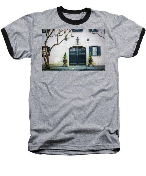 Enter Here Baseball T-Shirt