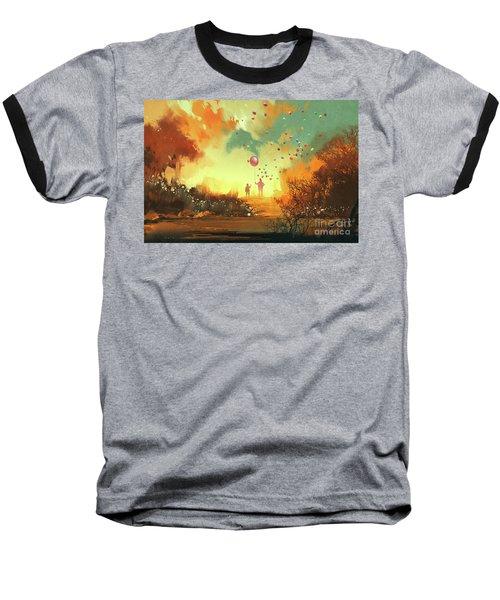 Enter The Fantasy Land Baseball T-Shirt