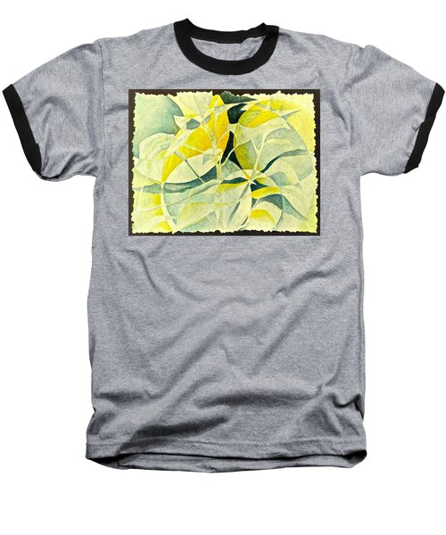 Baseball T-Shirt featuring the painting Entering A New Realm by Carolyn Rosenberger