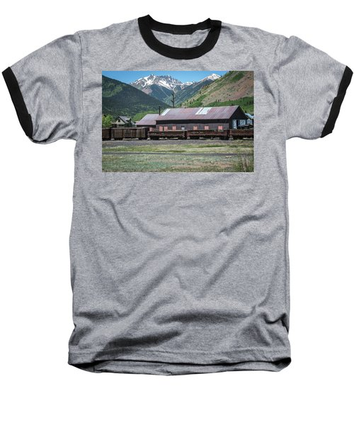 Baseball T-Shirt featuring the photograph Entering Silverton by Colleen Coccia