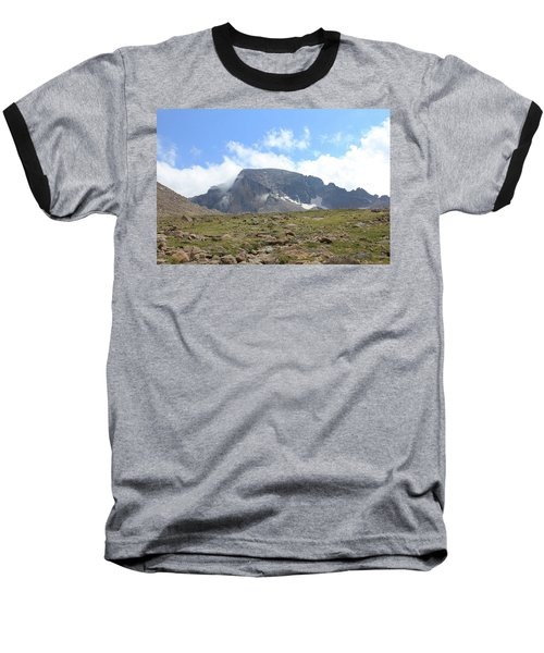 Entering The Boulder Field Baseball T-Shirt by Christin Brodie