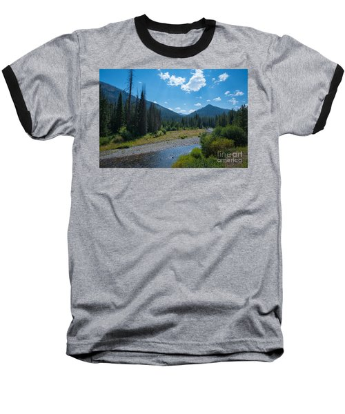 Entering Yellowstone National Park Baseball T-Shirt