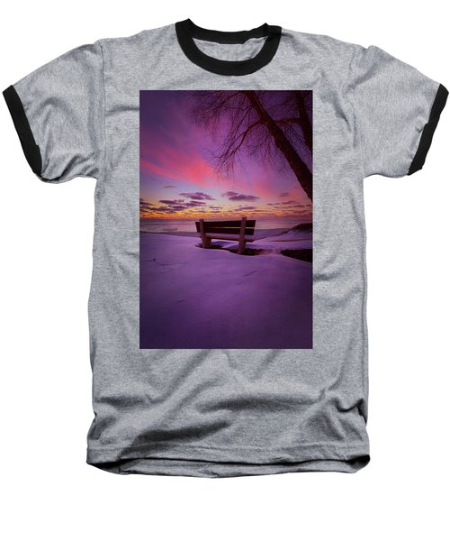 Baseball T-Shirt featuring the photograph Enters The Unguarded Heart by Phil Koch
