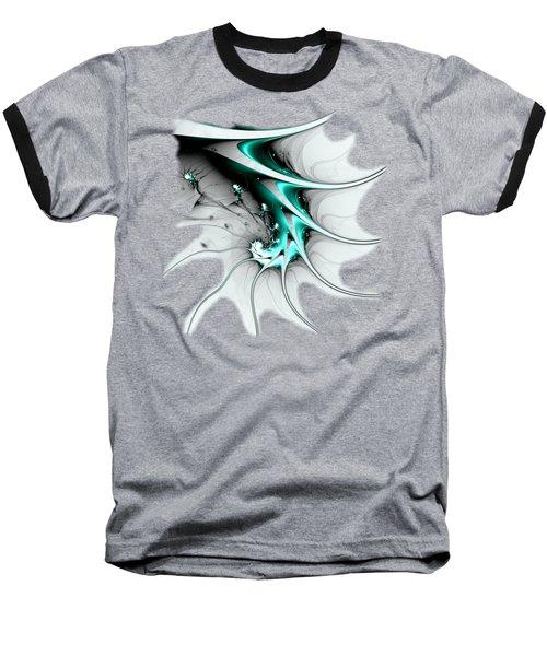 Baseball T-Shirt featuring the digital art Entity by Anastasiya Malakhova