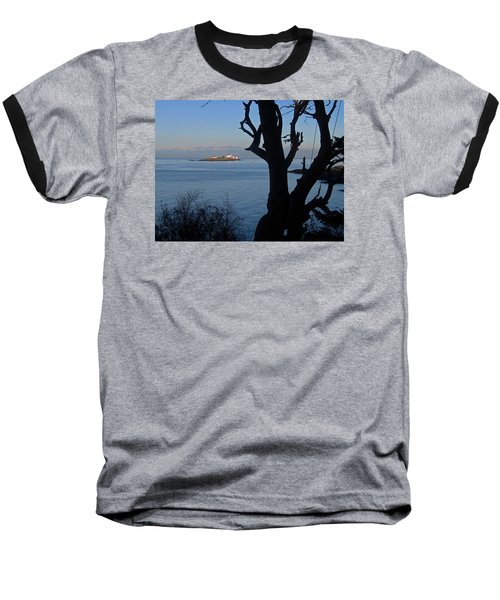 Entrance Island, Bc Baseball T-Shirt by Anne Havard