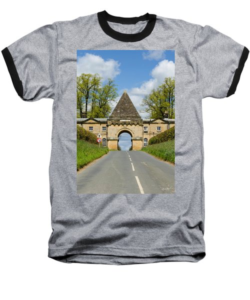 Entrance To Burghley House Baseball T-Shirt