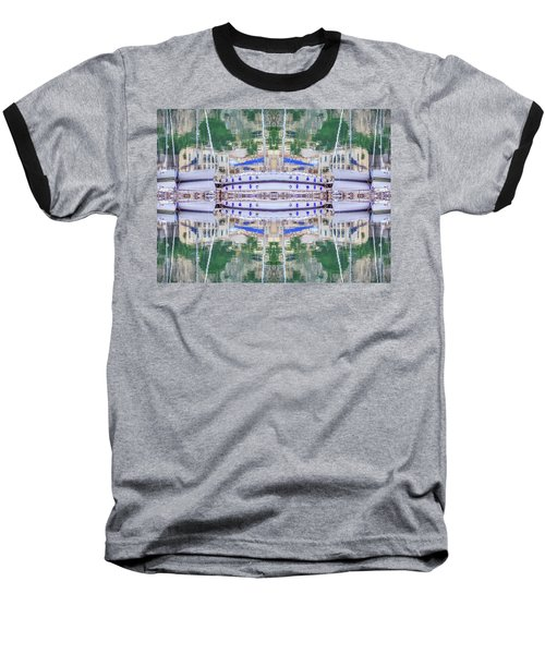 Entranced Baseball T-Shirt by Keith Armstrong