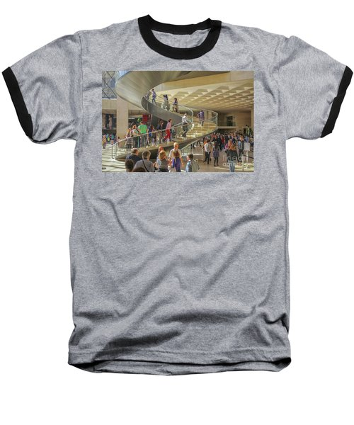 Entry Hall In The Louvre Museum Baseball T-Shirt