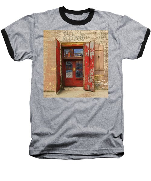 Entry Into The Past Baseball T-Shirt by Jeff Burgess
