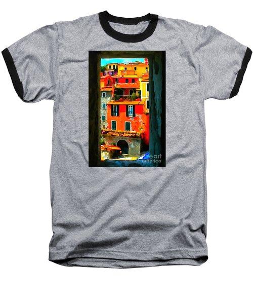 Entry Way Painting Baseball T-Shirt