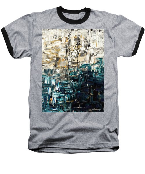 Baseball T-Shirt featuring the painting Envisioning by Carmen Guedez