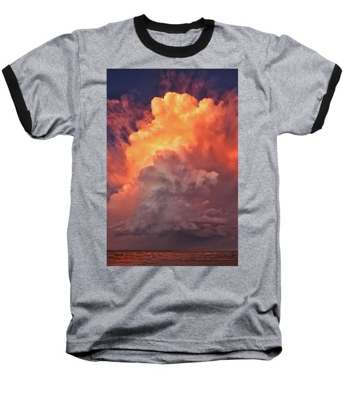 Epic Storm Clouds Baseball T-Shirt