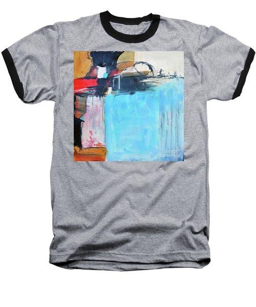 Equalibrium Baseball T-Shirt by Ron Stephens