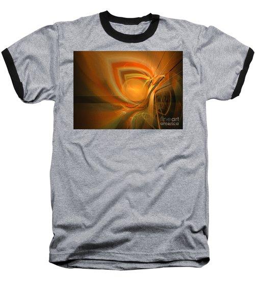 Equilibrium - Abstract Art Baseball T-Shirt