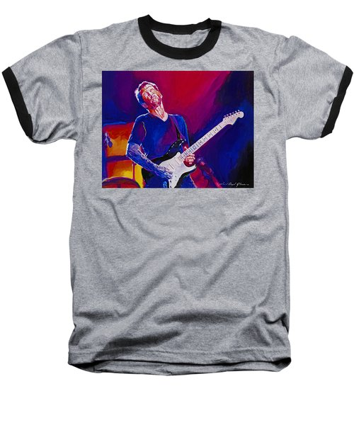 Eric Clapton - Crossroads Baseball T-Shirt