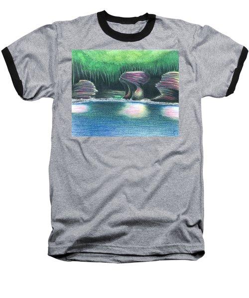 Eroding Away Baseball T-Shirt