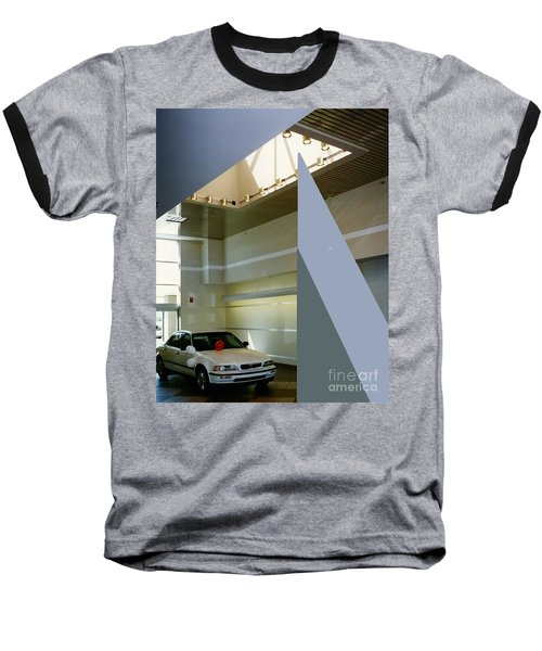Ertley Automall5 Baseball T-Shirt by Andrew Drozdowicz