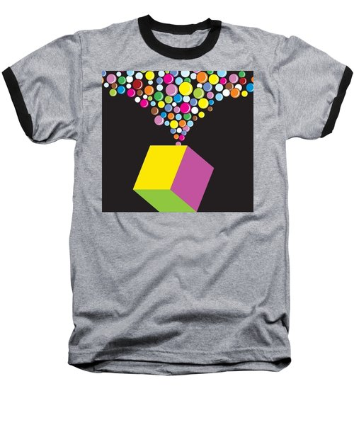 Eruption Baseball T-Shirt by Now