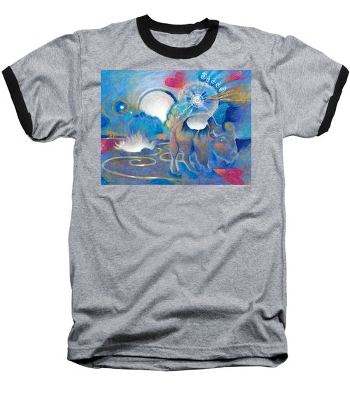 Eruption Of A Wish At The Fire Ceremony Baseball T-Shirt