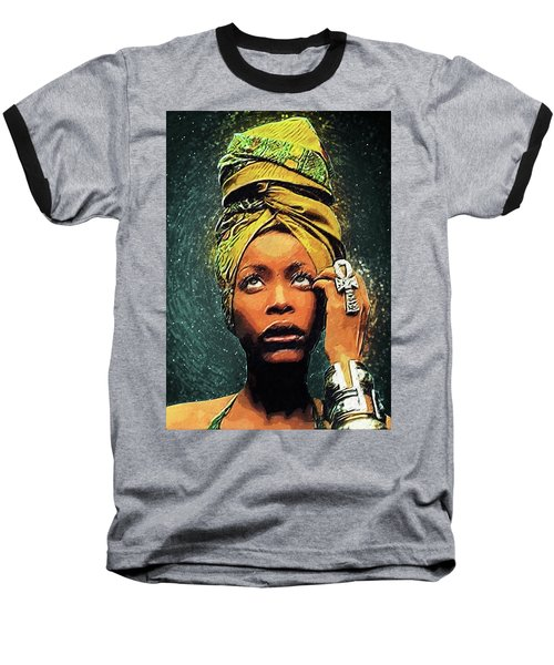 Erykah Badu Baseball T-Shirt