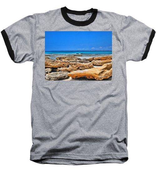 Es Trenc Baseball T-Shirt by Andreas Thust