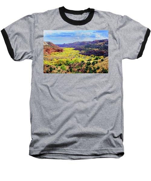 Escalante Canyon Baseball T-Shirt
