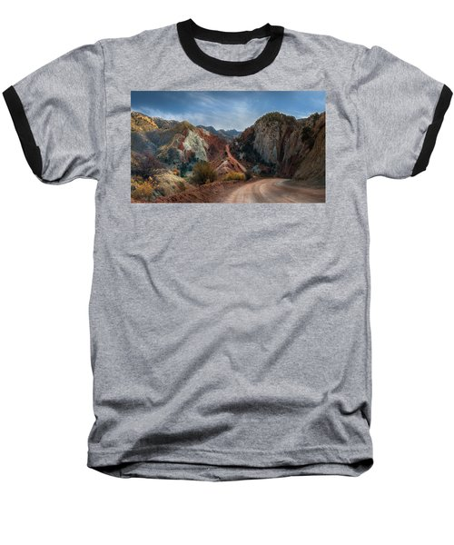 Grand Staircase Escalante Road Baseball T-Shirt