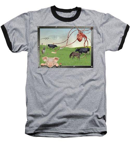 Escape From Eden Baseball T-Shirt