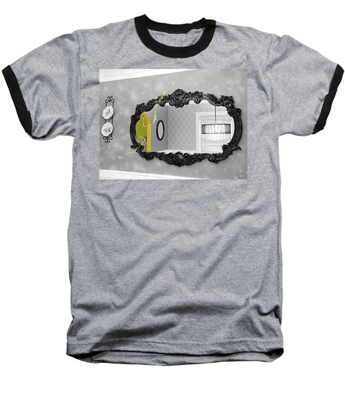 Escape From The Yellow Room Baseball T-Shirt