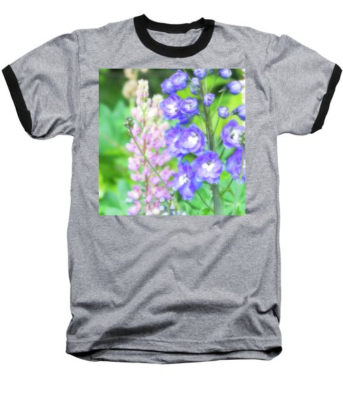 Baseball T-Shirt featuring the photograph Escape To The Garden by Bonnie Bruno