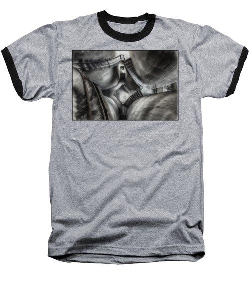 Escher Stairwell Baseball T-Shirt