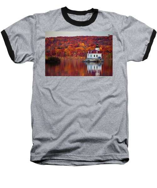 Esopus Lighthouse In Late Fall #1 Baseball T-Shirt