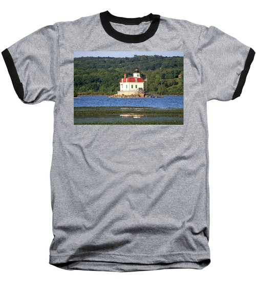 Baseball T-Shirt featuring the photograph Esopus Lighthouse In Summer #4 by Jeff Severson