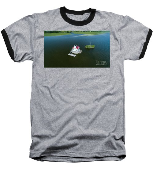 Esopus Lighthouse Baseball T-Shirt